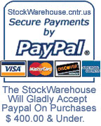 Paypal Allows You To Use Your Bank Or Credit Card Keeping Your Information Safe & Secure !